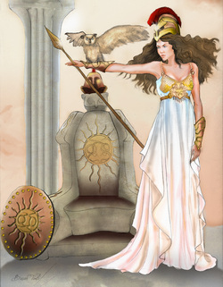 greek goddess of war and wisdom